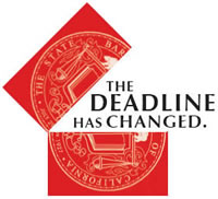 The Deadline Has Changed